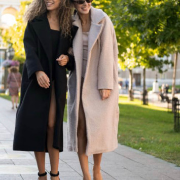 Как носить пальто?