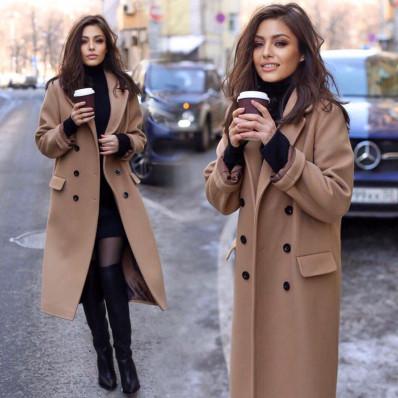 Какой цвет пальто модный в 2021 году?