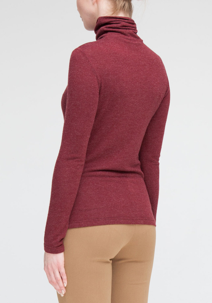 Knitted golf burgundy Preston