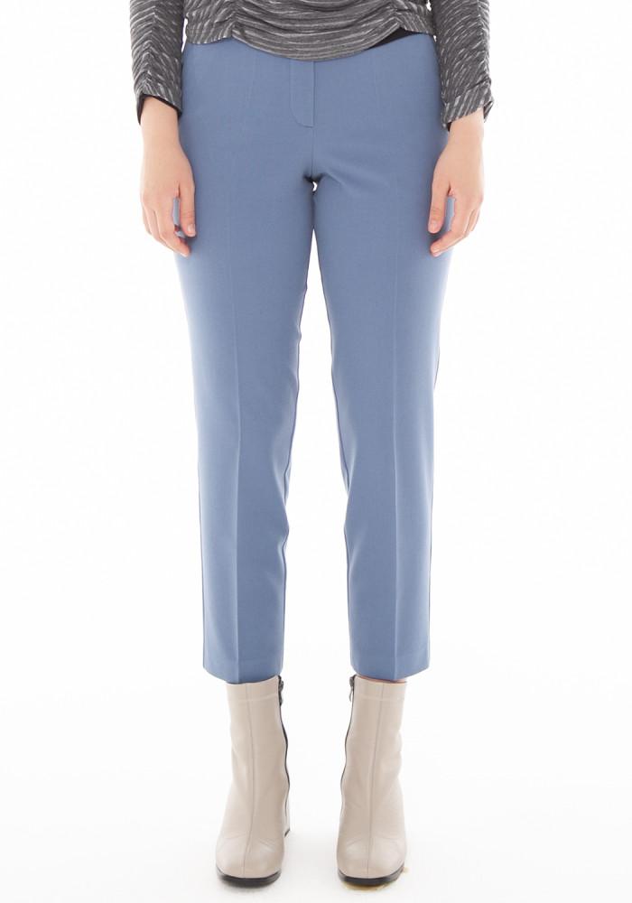 """Зауженные укороченные брюки цвета индиго """"Лайт 21"""""""