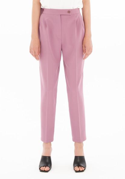 """Зауженные брюки сиреневого цвета """"Витани"""""""