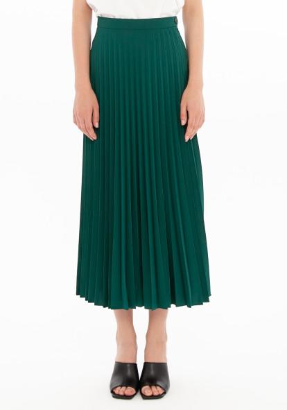 """Плиссированная юбка зеленого цвета """"Верда"""""""