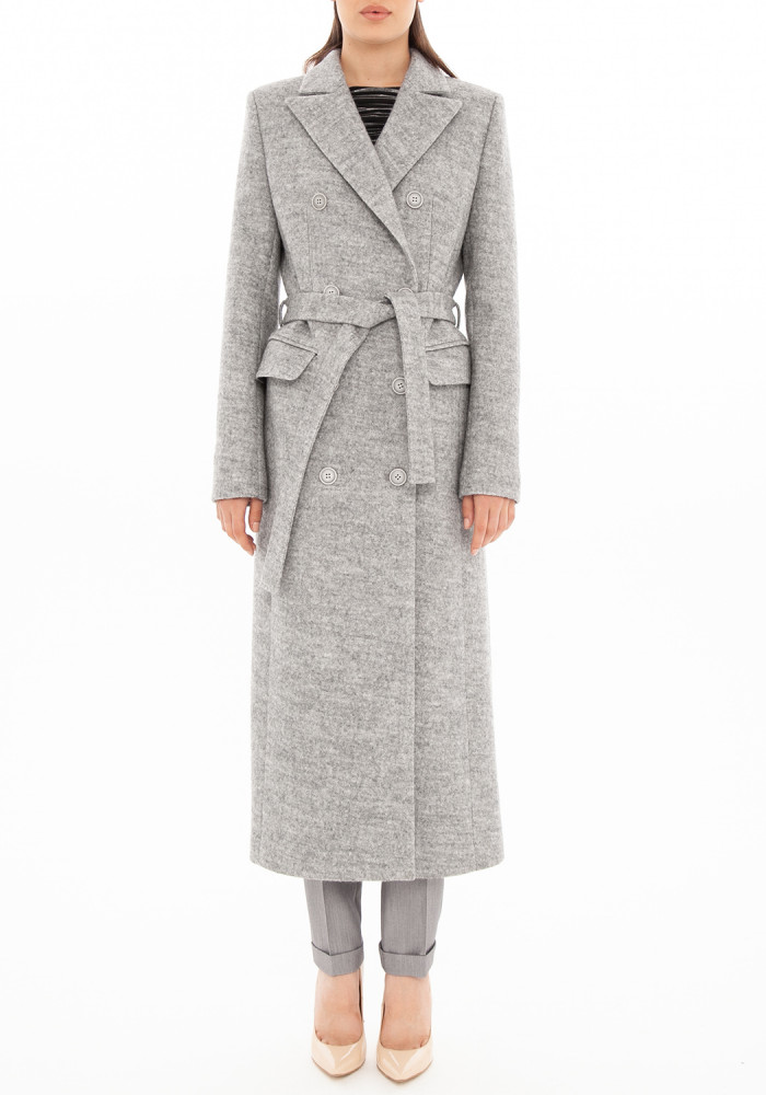 "Осіннє сіре пальто  ""Амбре 21"""
