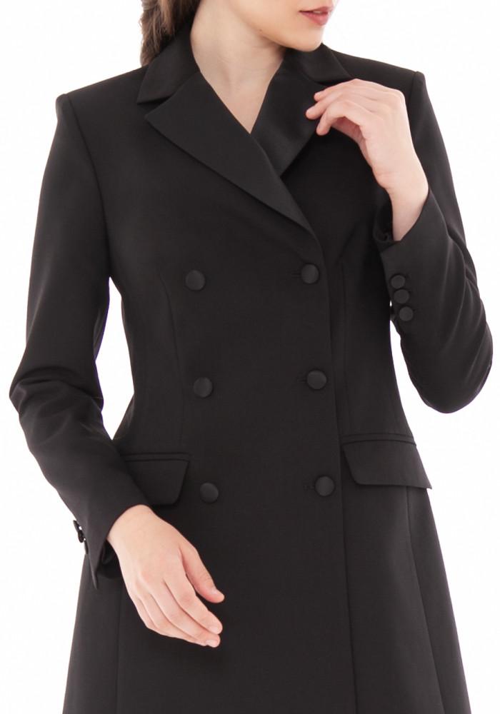 "Black trench coat ""Emanuel"""