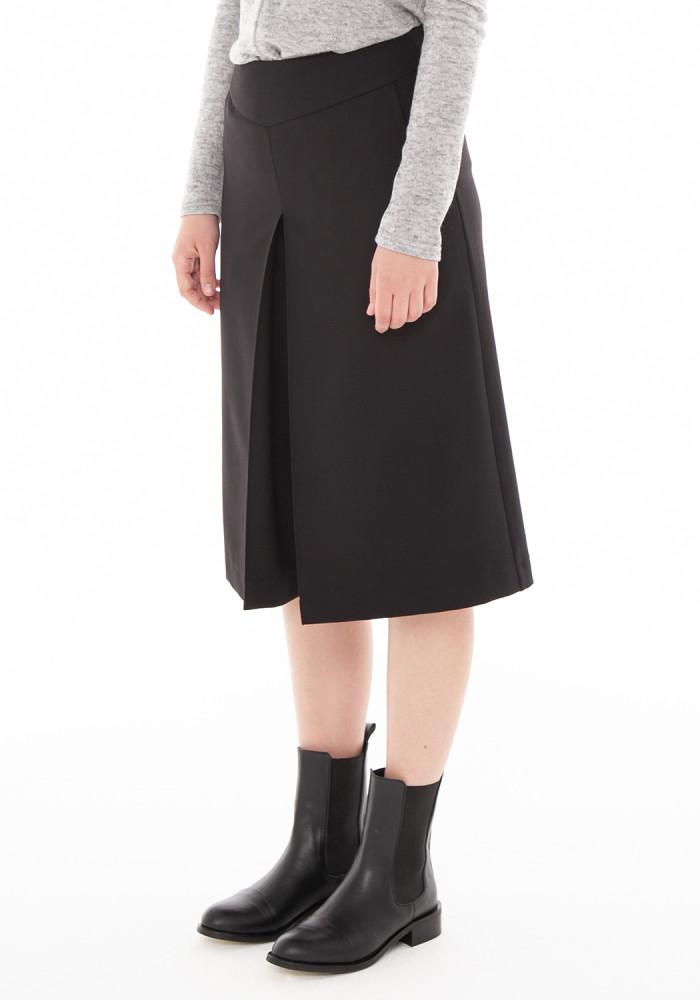 """Юбка-шорты чёрного цвета""""Шейли-21"""""""