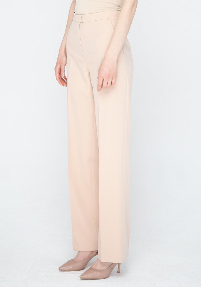 Wide beige trousers Abba 21