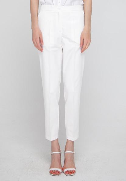 """Зауженные белые брюки """"Лайт"""""""