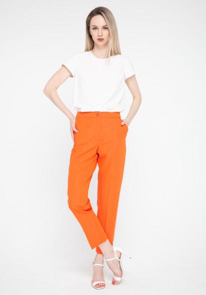 """Зауженные оранжевые штаны """"Лайт"""""""