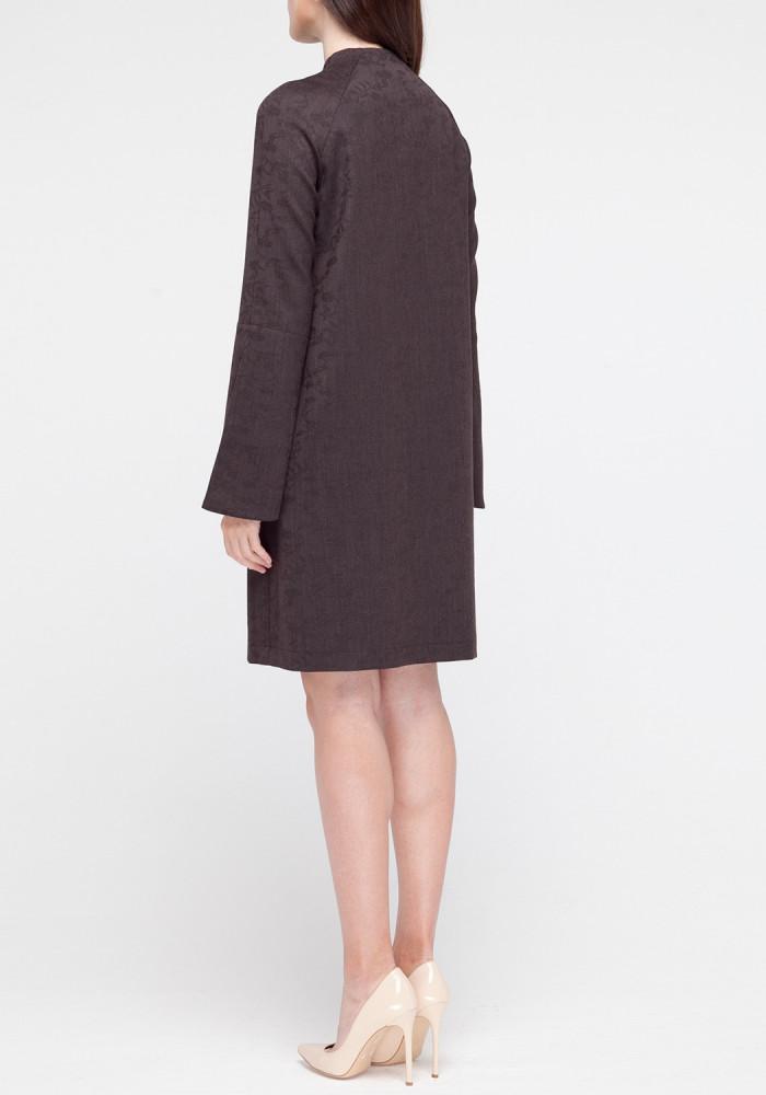 """Платье """"Клео"""" коричневый"""