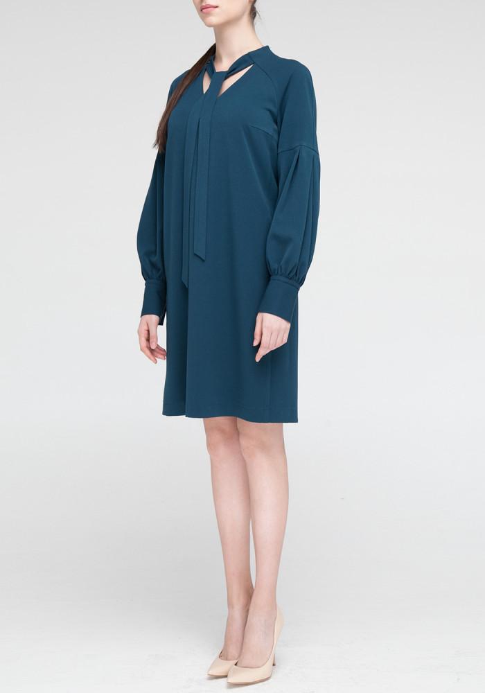 """Платье  """"Альба"""" лазурный"""