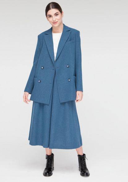 """Лазурное пальто  """"Вуаля"""""""
