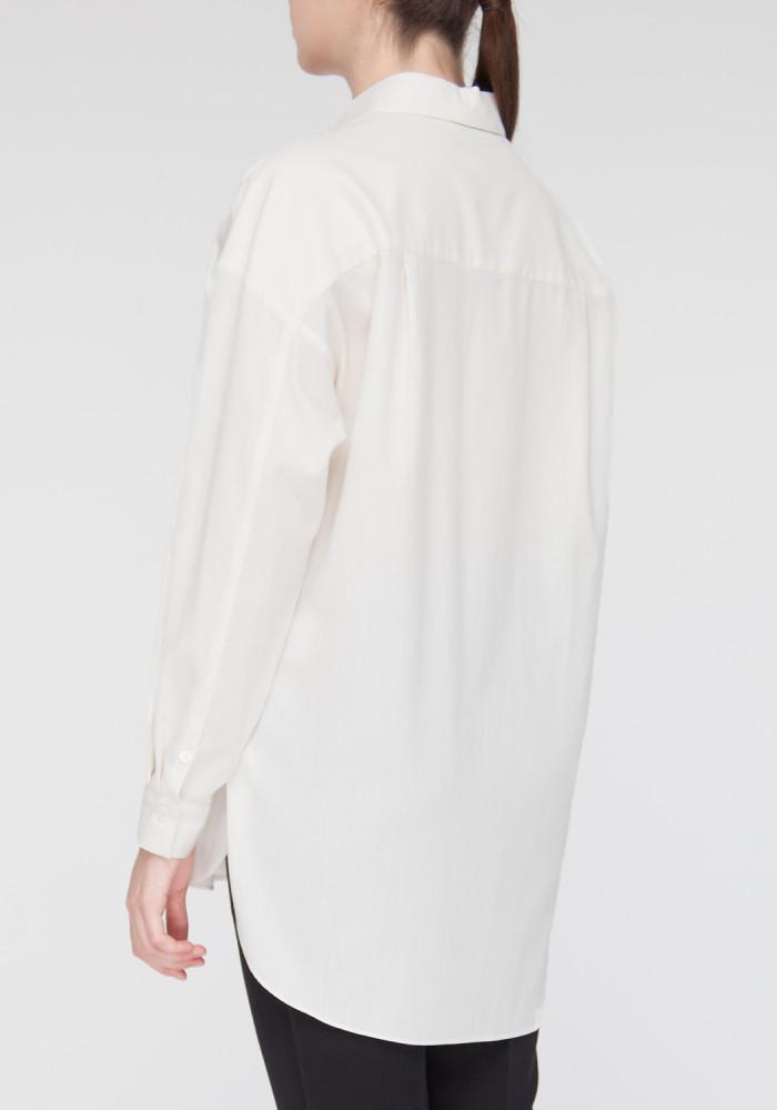 """Рубашка """"Корсика"""" молочная"""