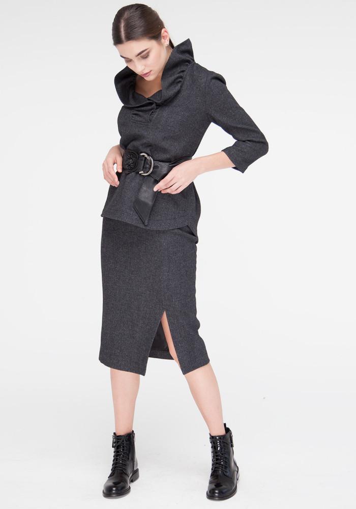 Graphite Taylor Pencil Skirt