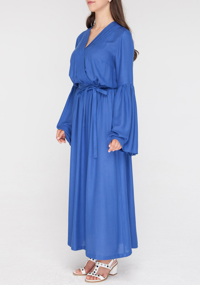 Viscose  blue dress Jeli