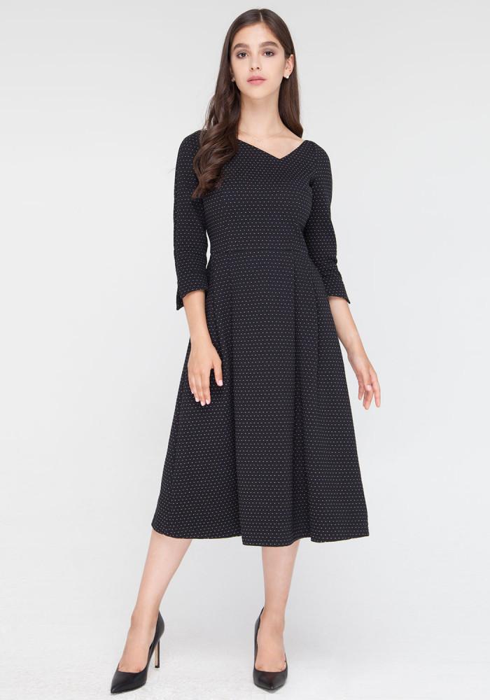 """Платье """"Карбона"""" черный"""