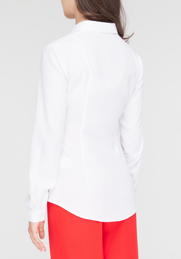 White classic fitted shirt Chizana
