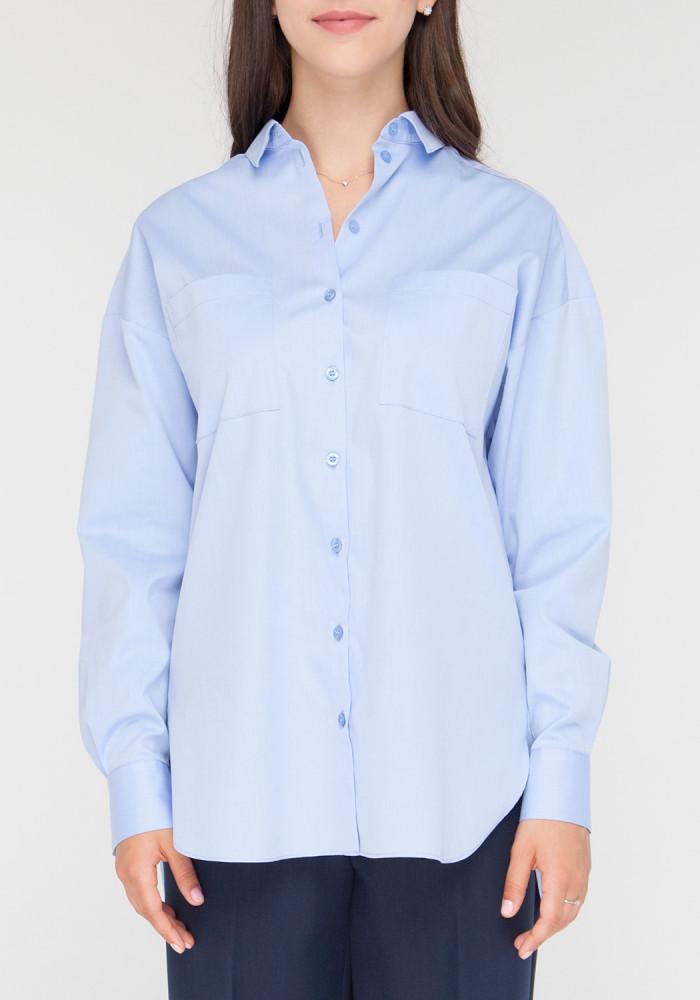 """Рубашка """"Корсика"""" голубой"""