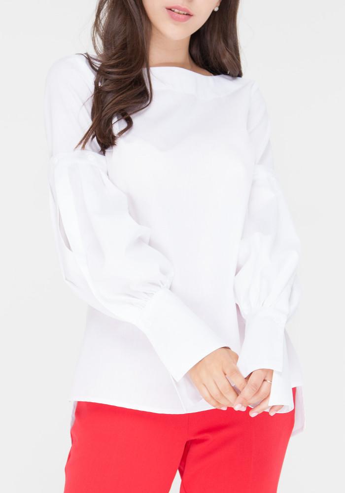 """Блуза-трансформер біла """"Мілена 2"""""""