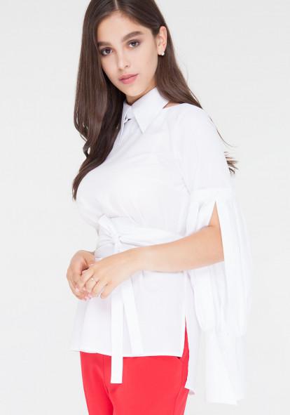 "Блуза-трансформер белая ""Милена 2"""