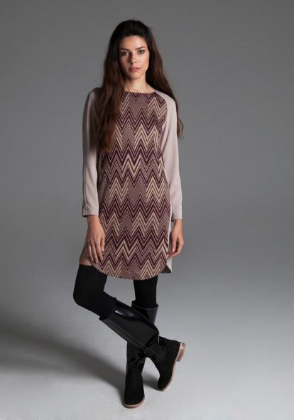 """Сукня """"Селеста"""" із геометричним візерунком"""