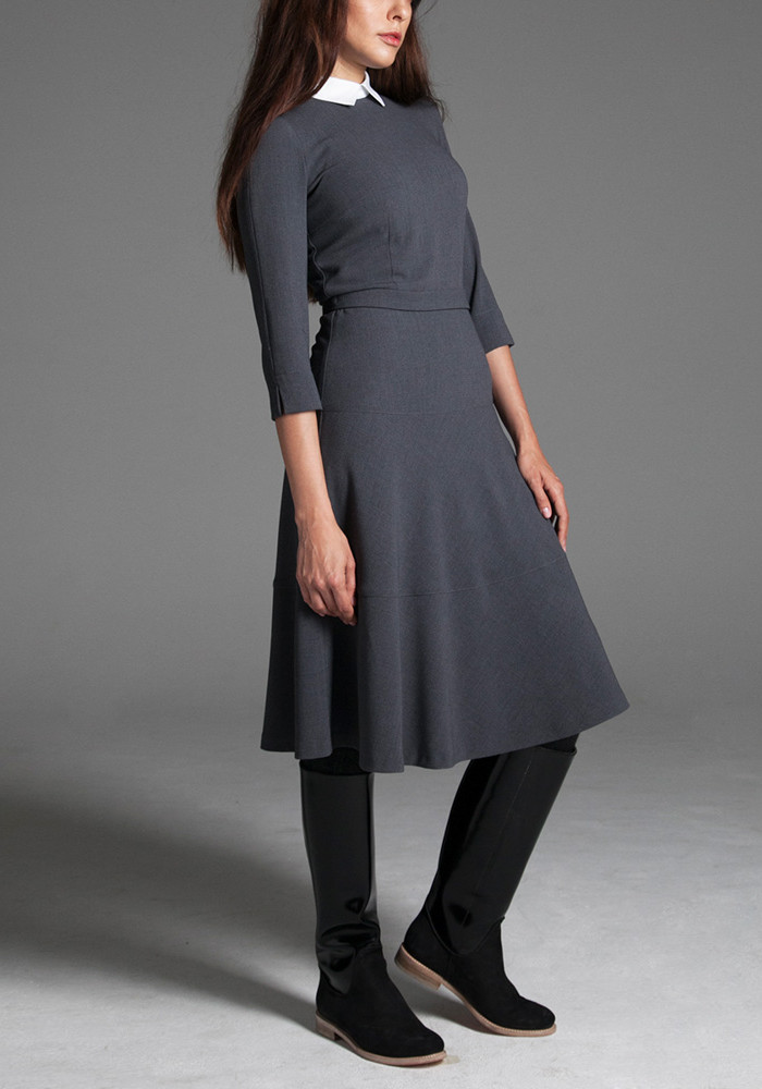 Dress gray with a belt Palmyra