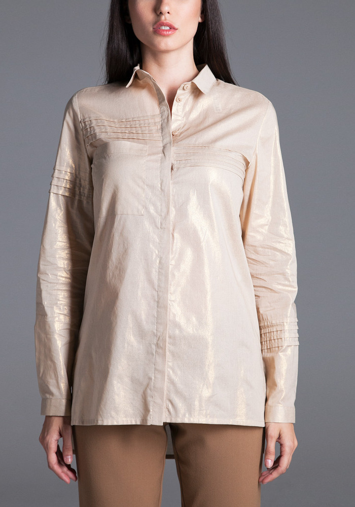 "Рубашка ""Эмилия"" золотая"