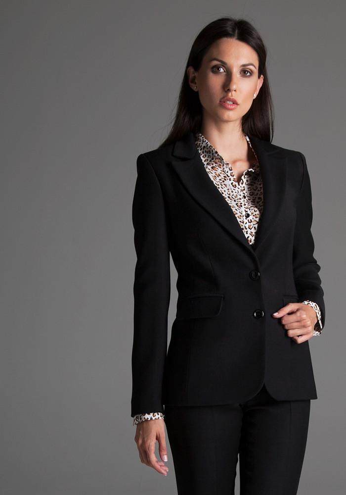 Classic black jacket Ethel