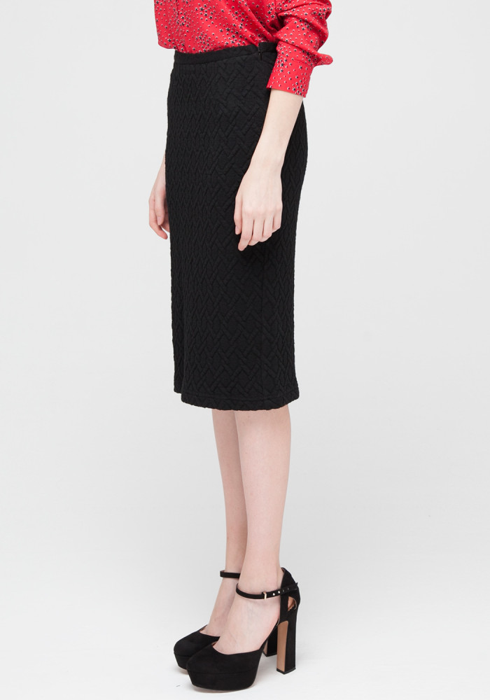 Knitted  black skirt Erin