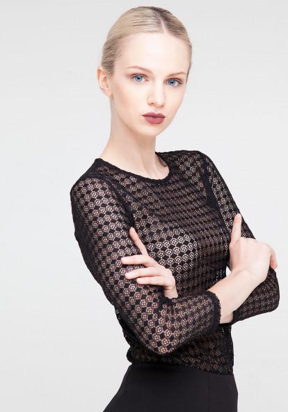 Lace  black top Wimbley