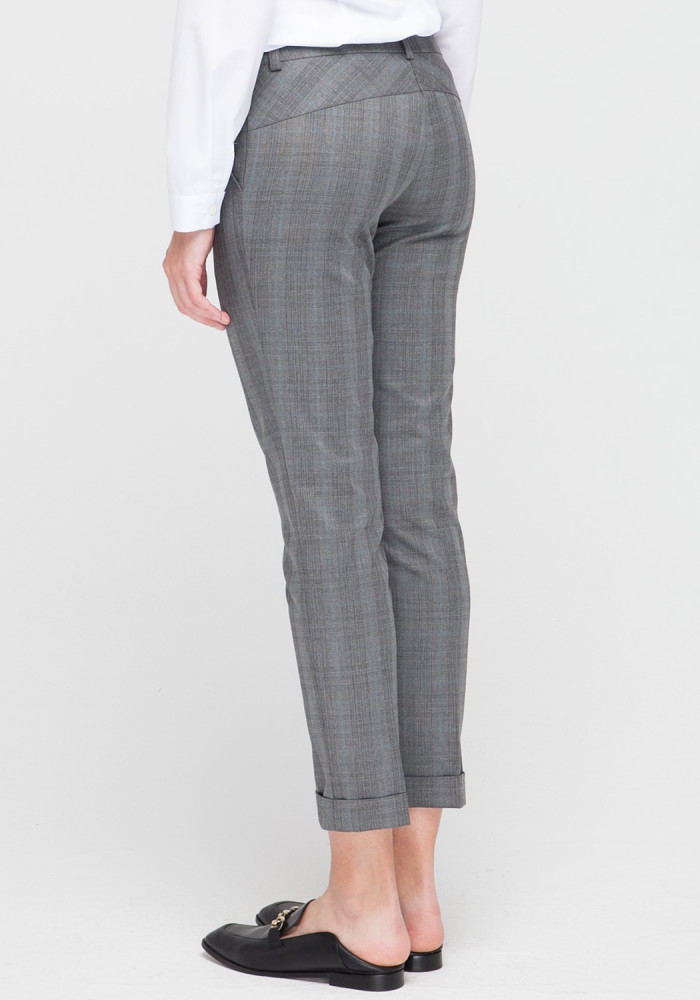 Gray skinny trousers Stitch