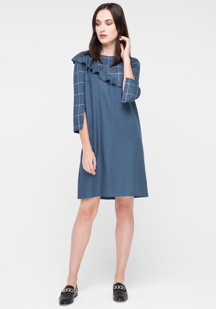 "Checkered dress ""Motives"""