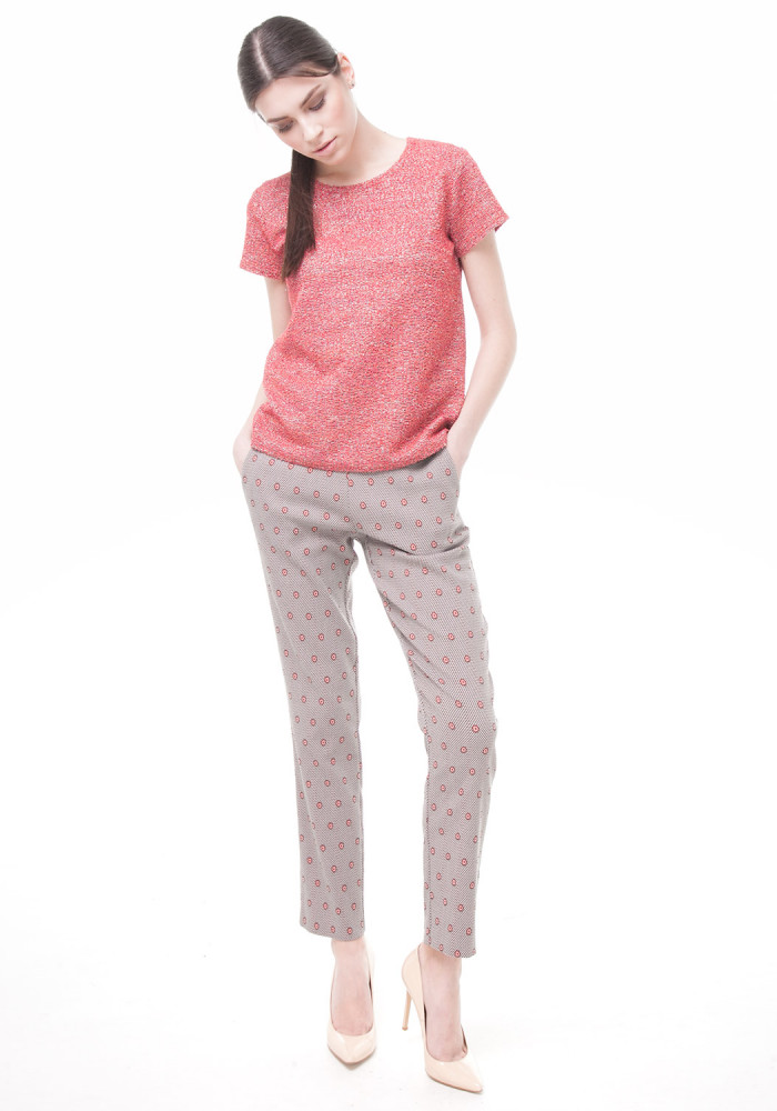 Skinny Quartz Print Pants