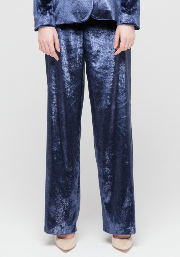 Velor trousers from a limited series Coliseni