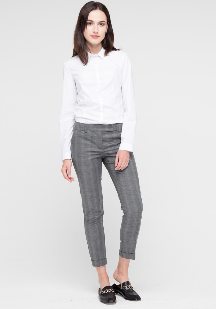 Gray skinny trousers Stitch