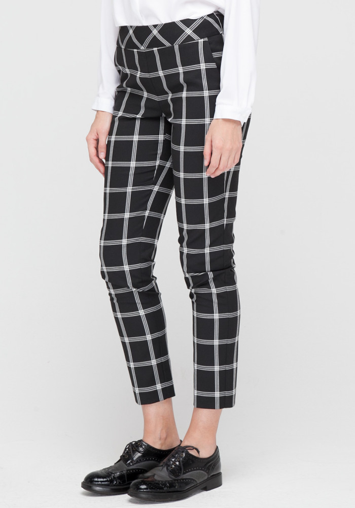Tapered  checked trousers Сanti