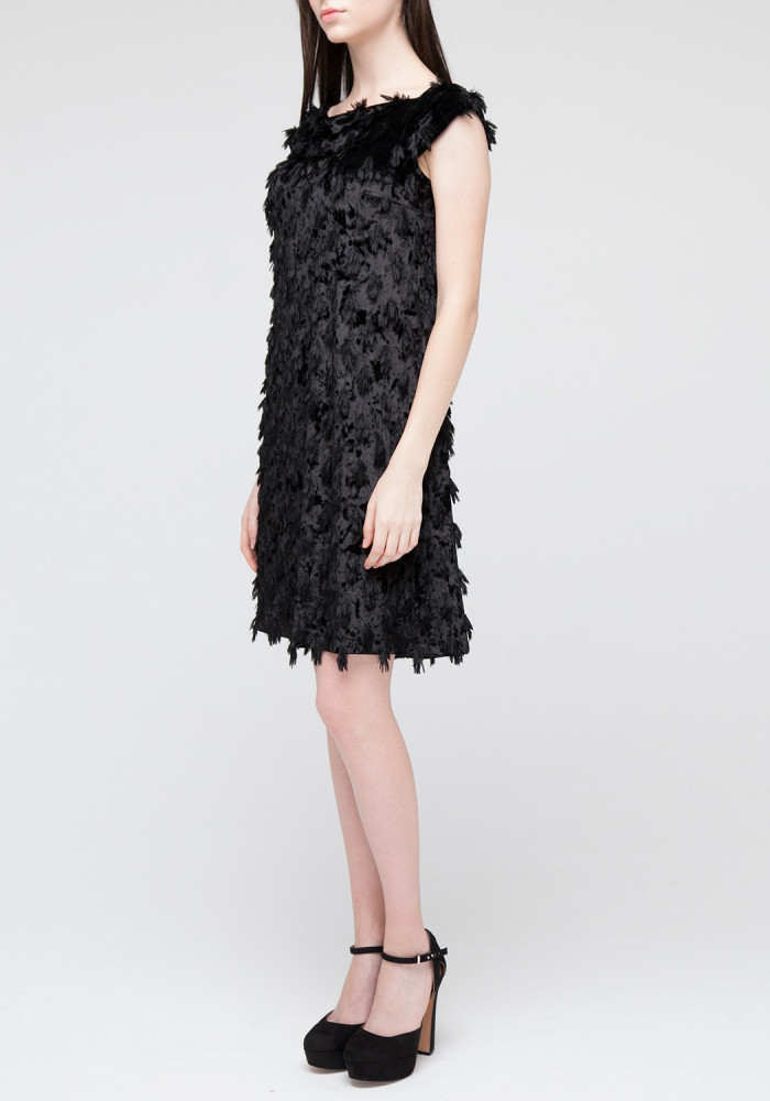 Black Evening Sheath Dress  Star Limited Edition