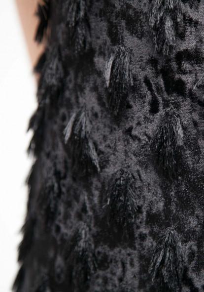 """Черное вечернее платье-футляр """"Стар"""""""