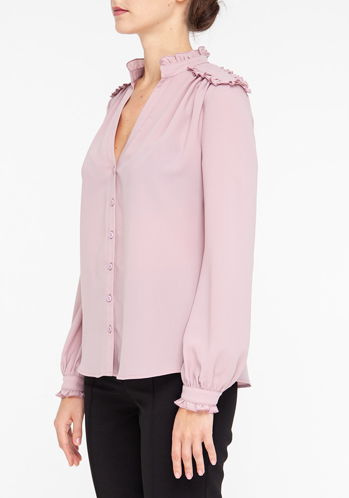 Pink blouse with long sleeves  Salvador