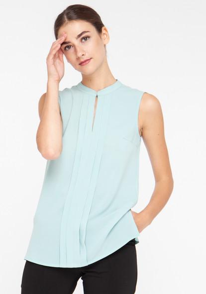 """Легкая блуза зелёного цвета """"Рейми"""""""