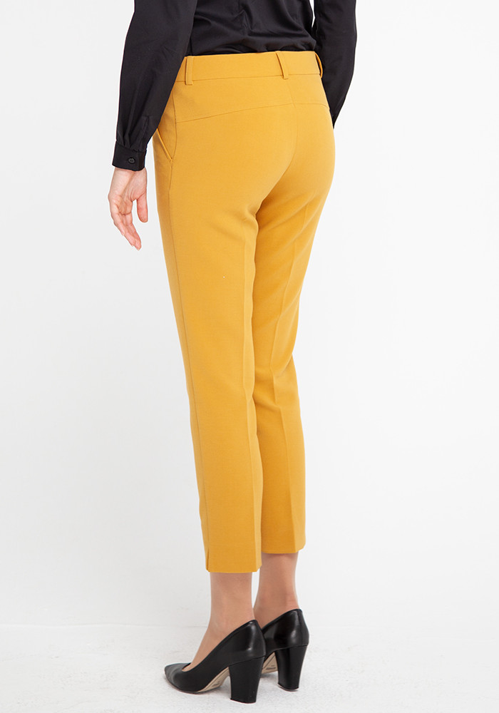 Tapered trousers  mustard color Calvi
