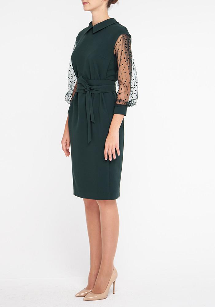"Dress ""Tissot"" malachite color"