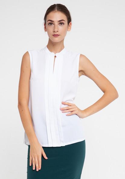 """Легкая блуза молочного цвета """"Рейми"""""""