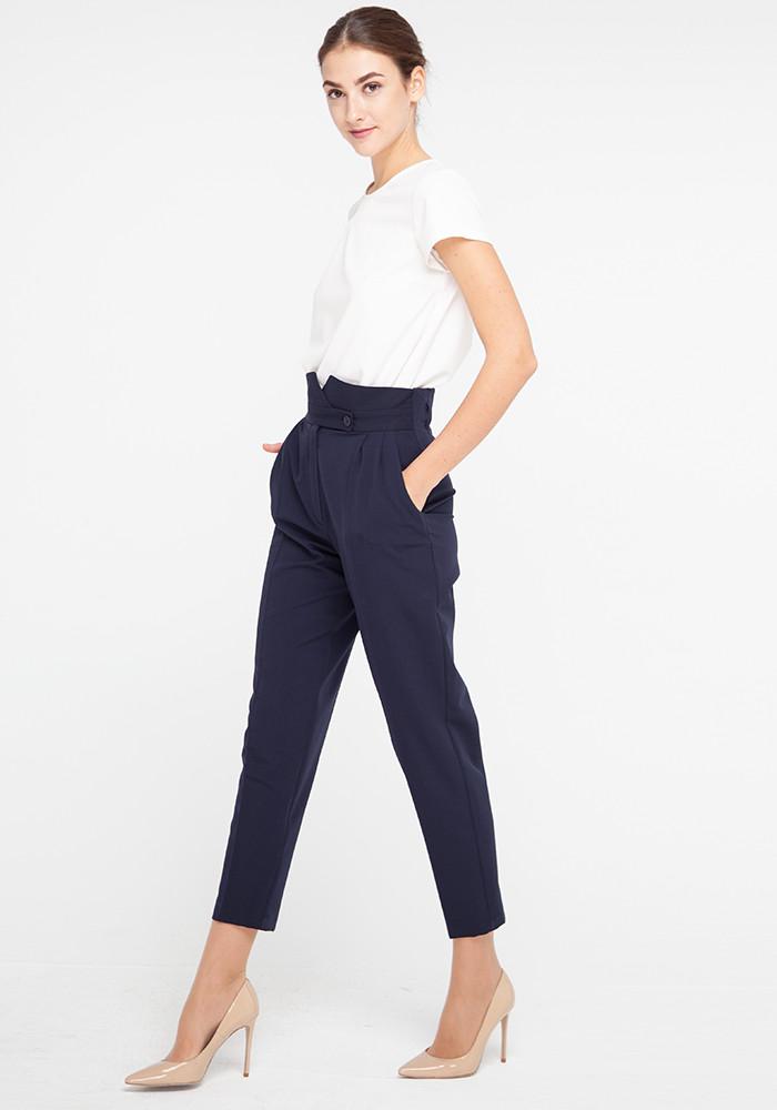 """Зауженные брюки с высокой посадкой """"Витани 21"""""""