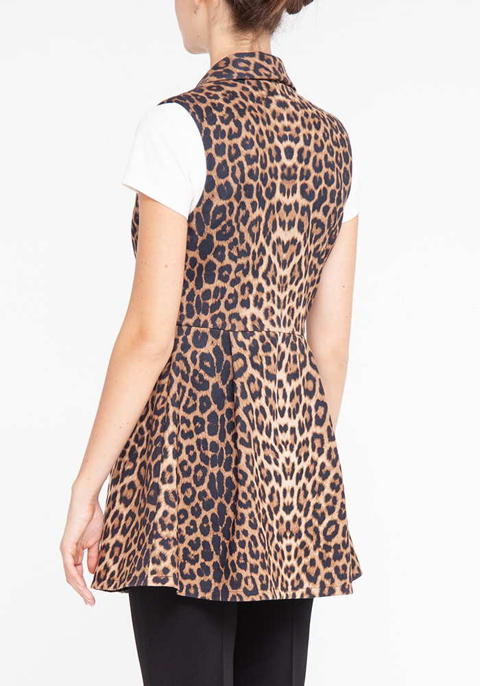 "Vest in leopard print ""Flirt2"""