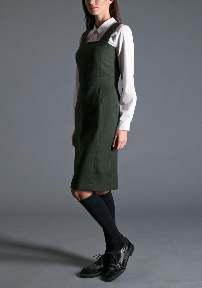 """Dress-sundress """"Gines"""" green"""