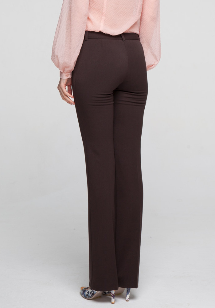 "Классические брюки ""Квартет"" коричневые"