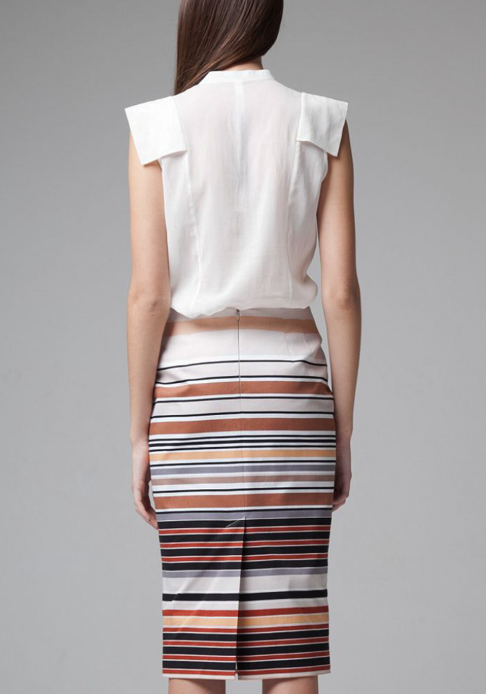 Skirt with stripes Millicent