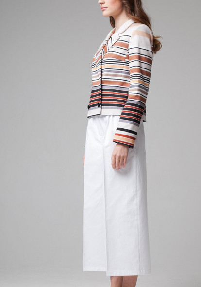 Jacket  beige with stripes Casper