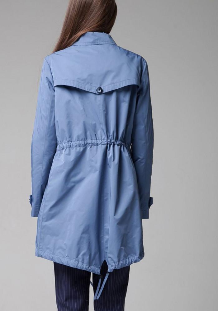 """Куртка-ветровка """"Сирена"""" голубая"""