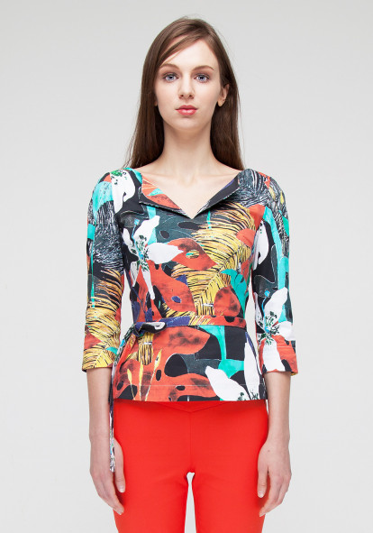 Top  with print Brusco